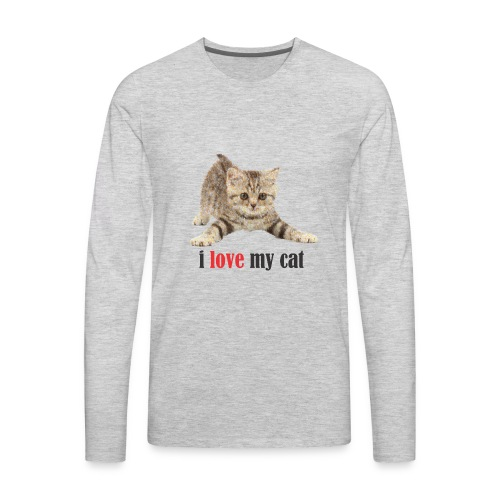 lovecat - Men's Premium Long Sleeve T-Shirt