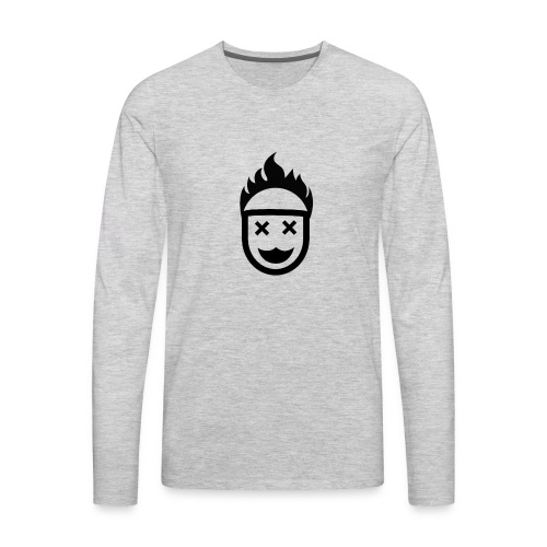 Hot Head / Dead Eyes. No Christ No Life! - Men's Premium Long Sleeve T-Shirt