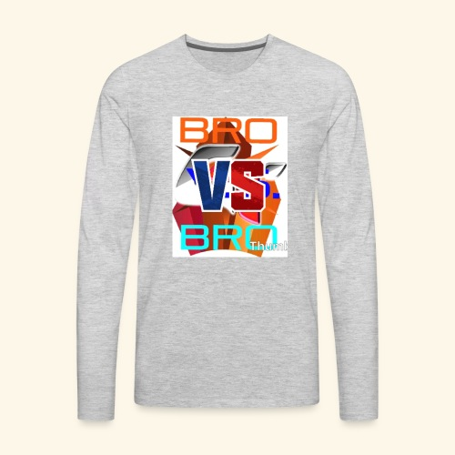 BroVSBro - Men's Premium Long Sleeve T-Shirt