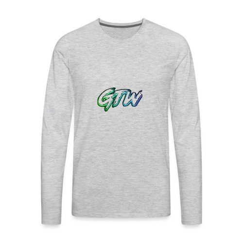 GTW Logo - Men's Premium Long Sleeve T-Shirt
