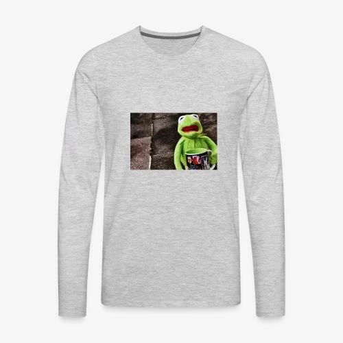Tea merch - Men's Premium Long Sleeve T-Shirt