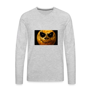 moon for halloween - Men's Premium Long Sleeve T-Shirt