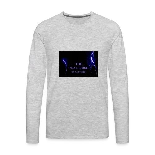 Lightning challenge master - Men's Premium Long Sleeve T-Shirt
