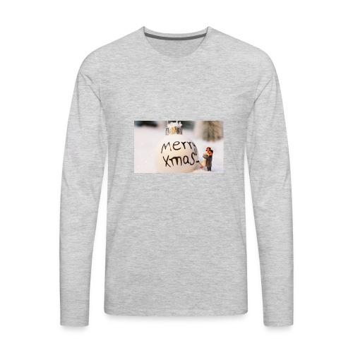 christmas bauble 1872135 960 720 - Men's Premium Long Sleeve T-Shirt