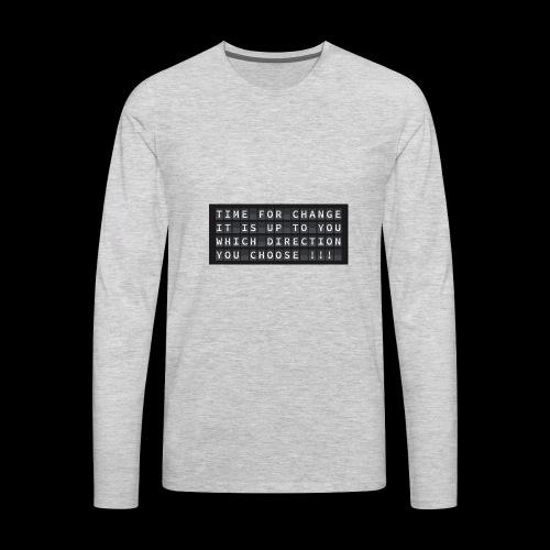 change 2930404 960 720 - Men's Premium Long Sleeve T-Shirt