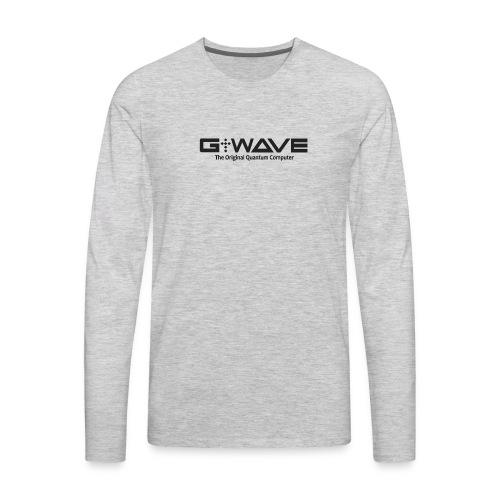 G-WAVE - The Original Quantum Computer - Men's Premium Long Sleeve T-Shirt