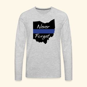 Ohio Never Forget - Men's Premium Long Sleeve T-Shirt