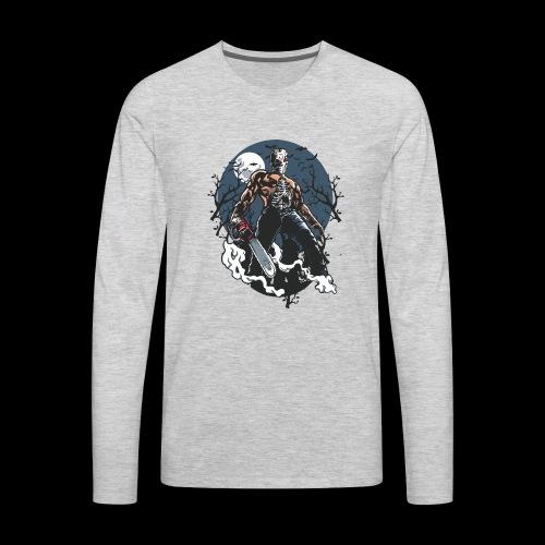 Evil Killer - Men's Premium Long Sleeve T-Shirt