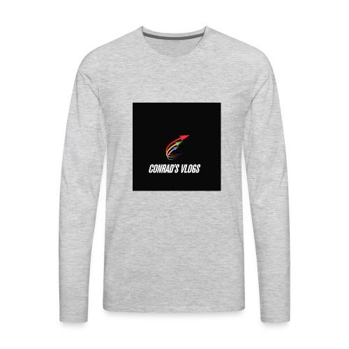 Conrad's vlogs t-shirt - Men's Premium Long Sleeve T-Shirt