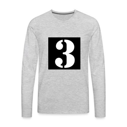 Team 3 - Men's Premium Long Sleeve T-Shirt