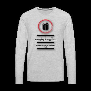 gift-box - Men's Premium Long Sleeve T-Shirt