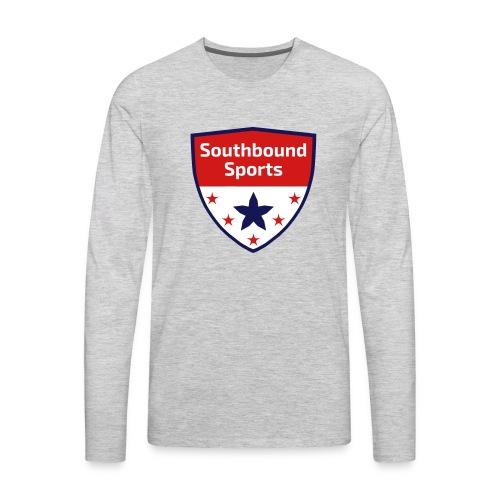 Southbound Sports Crest Logo - Men's Premium Long Sleeve T-Shirt