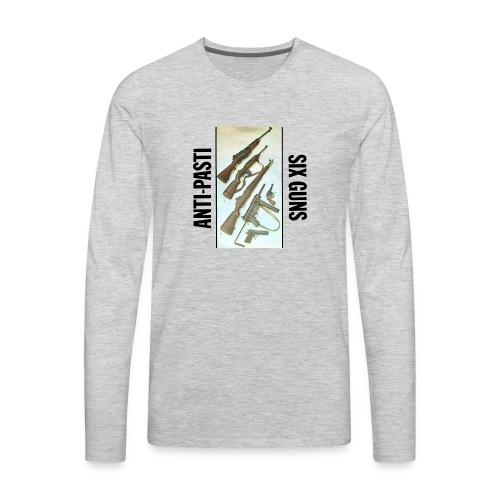 anti pasti - Men's Premium Long Sleeve T-Shirt