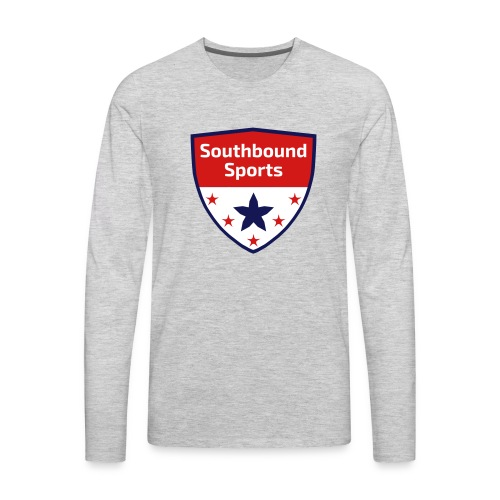 Southbound Sports Crest Logo - Men's Premium Long Sleeve T-Shirt