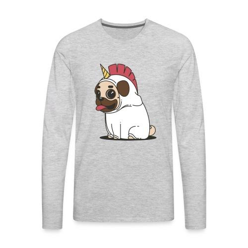 Pug Love - Men's Premium Long Sleeve T-Shirt