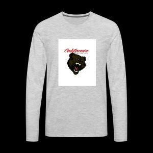 cali bear - Men's Premium Long Sleeve T-Shirt