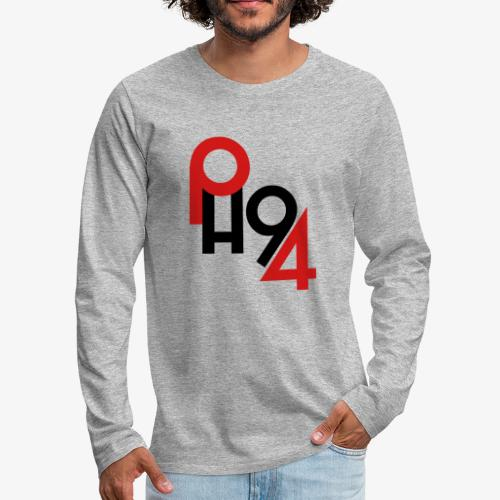 Puckhead1994 Logo - Men's Premium Long Sleeve T-Shirt