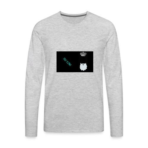 the king - Men's Premium Long Sleeve T-Shirt