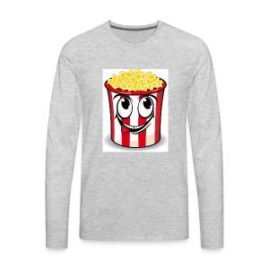popcorn men - Men's Premium Long Sleeve T-Shirt