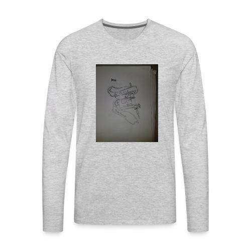 Tattoo Machine Hoodiez - Men's Premium Long Sleeve T-Shirt