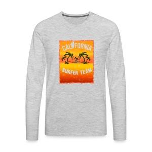 california surfer - Men's Premium Long Sleeve T-Shirt