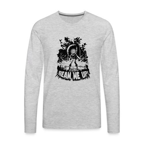 Beam Me Up! - Men's Premium Long Sleeve T-Shirt