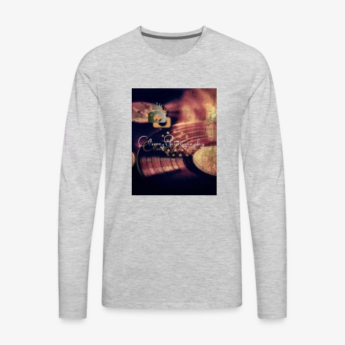Vintage Album Brand - Men's Premium Long Sleeve T-Shirt
