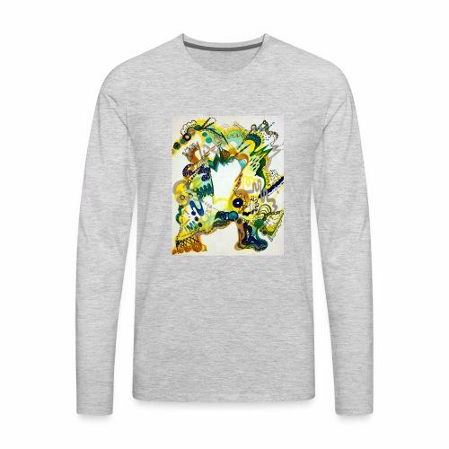monster chaos - Men's Premium Long Sleeve T-Shirt