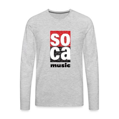 Soca music - Men's Premium Long Sleeve T-Shirt