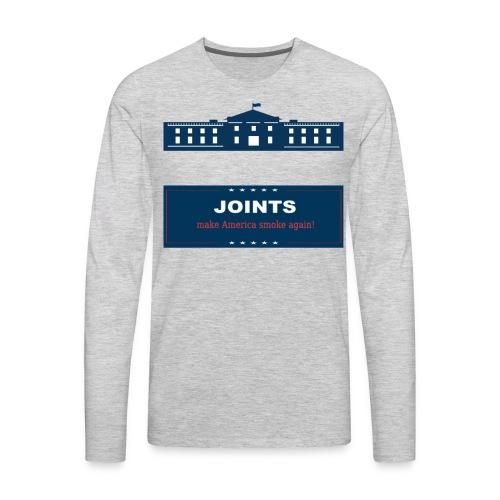 Make America Smoke Again - Men's Premium Long Sleeve T-Shirt