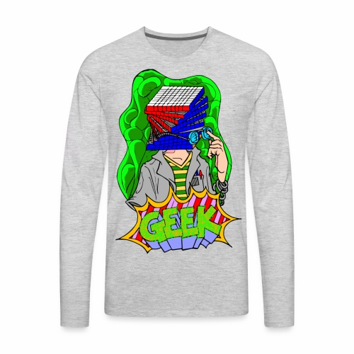 Geek Culture Soader - Men's Premium Long Sleeve T-Shirt
