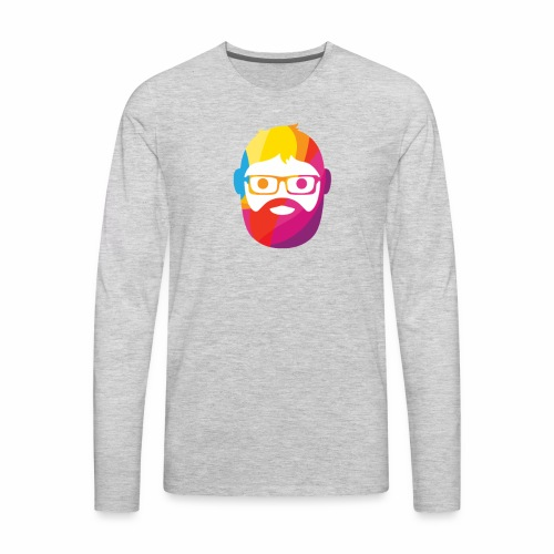 GEEK MAN COLORS - Men's Premium Long Sleeve T-Shirt