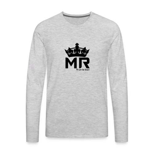 Logo modelo 2 - Men's Premium Long Sleeve T-Shirt