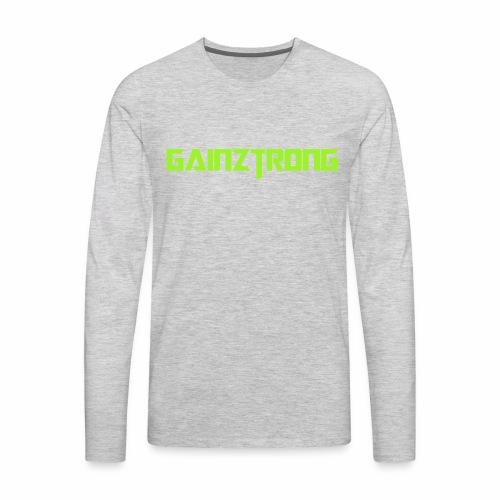 Gainztrong - Men's Premium Long Sleeve T-Shirt