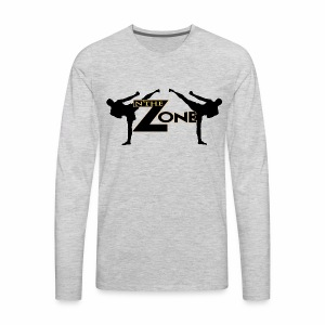 Zone MMA - Men's Premium Long Sleeve T-Shirt
