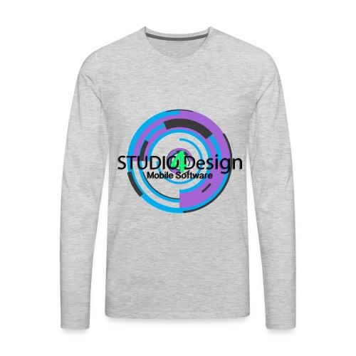 S4DLogo - Men's Premium Long Sleeve T-Shirt