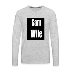 samlogo - Men's Premium Long Sleeve T-Shirt