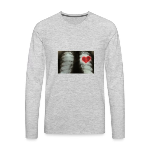 heartbreak jacket - Men's Premium Long Sleeve T-Shirt