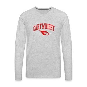 Cartwright College Logo - Men's Premium Long Sleeve T-Shirt