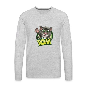 Talking_TOM_wave_preview_lowRes - Men's Premium Long Sleeve T-Shirt