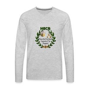 HECB Homeschool Enrichment Cooperative Bluegrass - Men's Premium Long Sleeve T-Shirt
