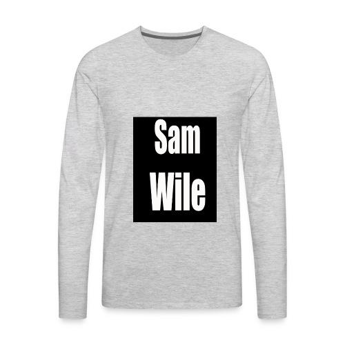 Sam Wile - Men's Premium Long Sleeve T-Shirt