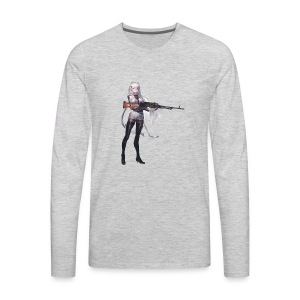 The PK Queen - Men's Premium Long Sleeve T-Shirt