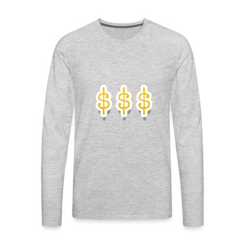 Money Mitch merchandise by Haut - Men's Premium Long Sleeve T-Shirt