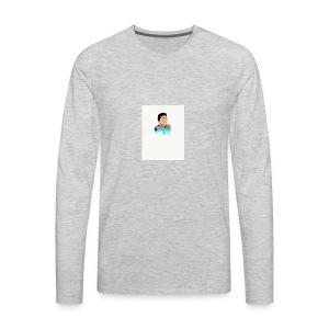 cartoon of ME iphone case - Men's Premium Long Sleeve T-Shirt