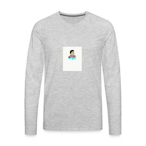 cartoon of ME iphone case - Men's Premium Long Sleeve T-Shirt