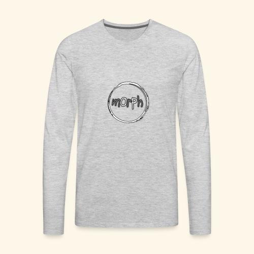 mOrPh logo - Men's Premium Long Sleeve T-Shirt