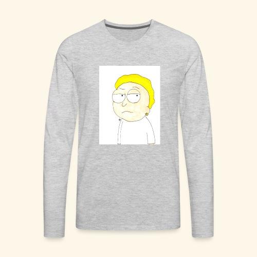 MORTY MATHERS - Men's Premium Long Sleeve T-Shirt