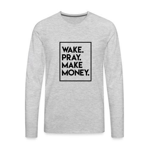 wakepray - Men's Premium Long Sleeve T-Shirt