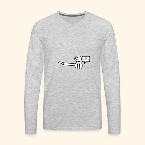 OMG its txdiamondx - Men's Premium Long Sleeve T-Shirt